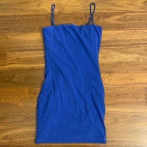 Blue Bodycon Dress
